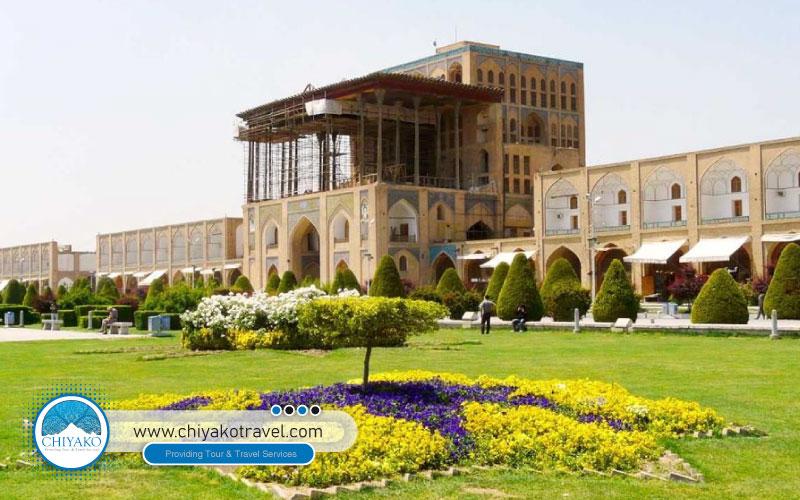 AaliQapu Iran architecture