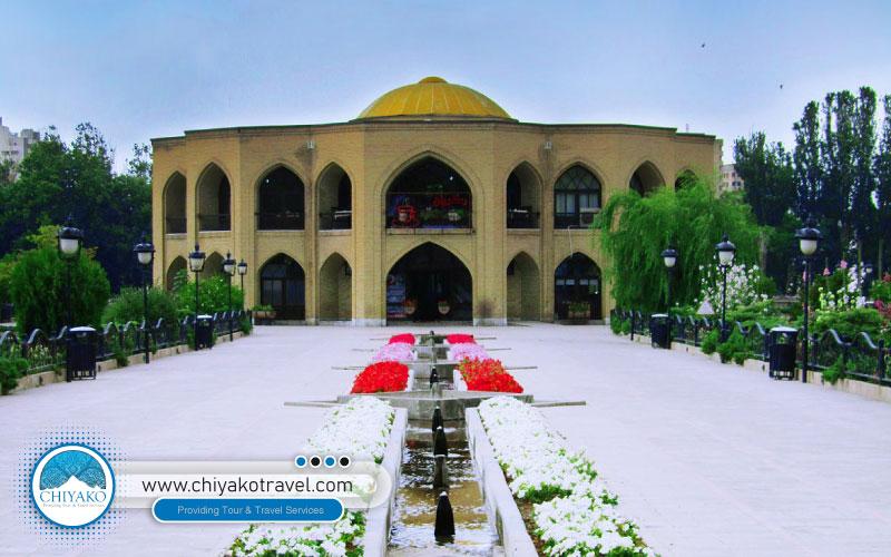 El Goli Park in Tabriz