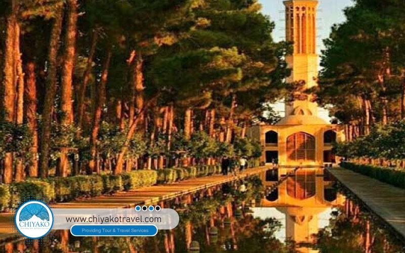 Garden of Dowlatabad Yazd