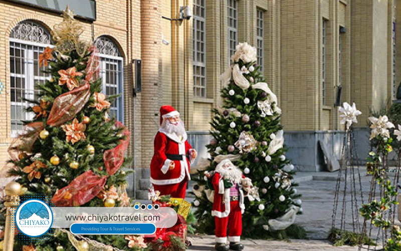 Christmas tour in Isfahan