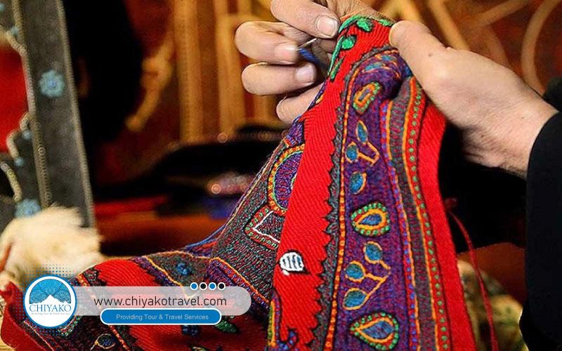 Turkmen Sahra souvenirs