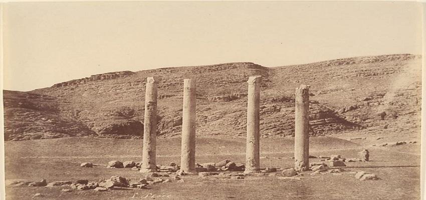 Columns left from the Achaemenid Empire