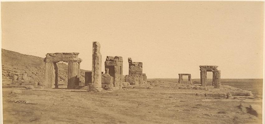 first photos of Persepolis
