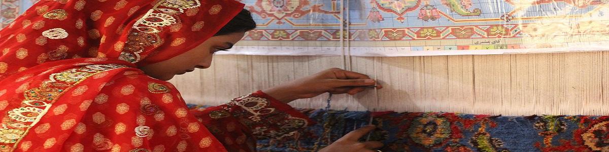 The art of Iranian carpet weaving