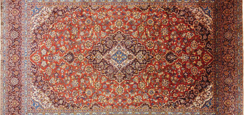 Carpet of Kashan