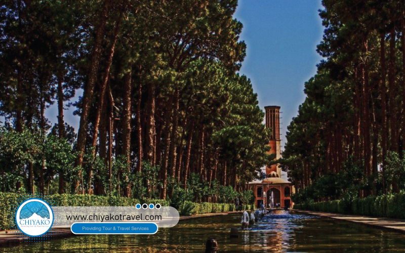 DowlatAbad Garden is Yazd