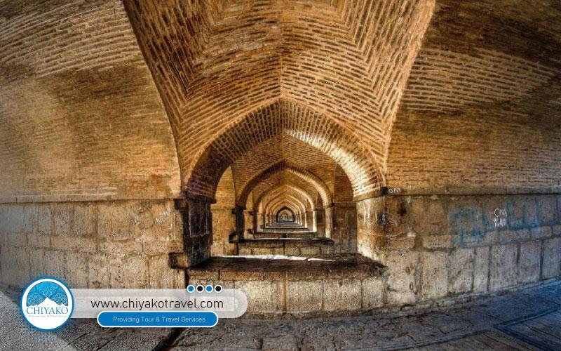 33-pol bridge in Isfahan