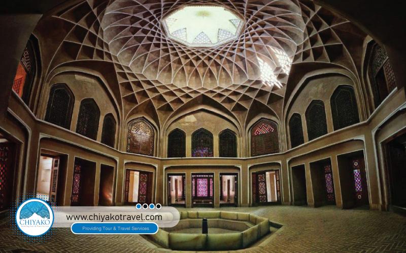 Dowlat Abad garden inside