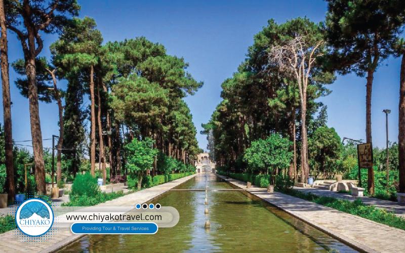DowlatAbad Garden in Yaazd