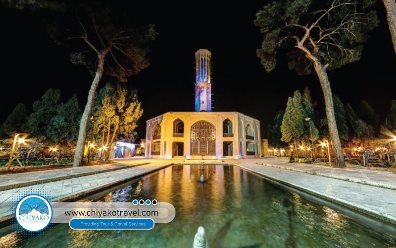 DowlatAbad Garden is Yazd city Iran