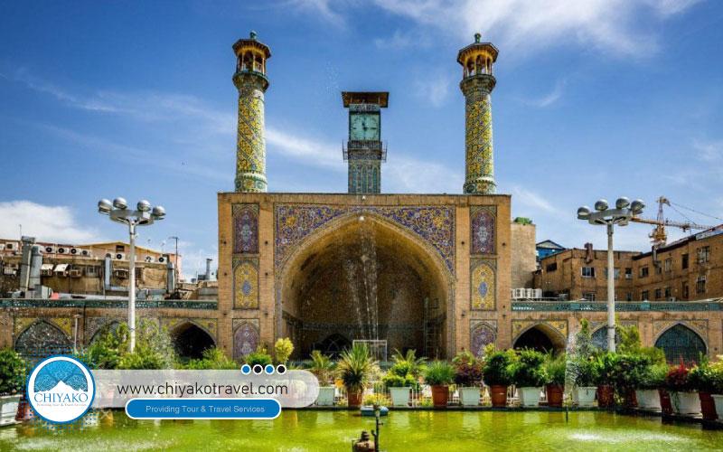 Imam mosque in grand bazaar