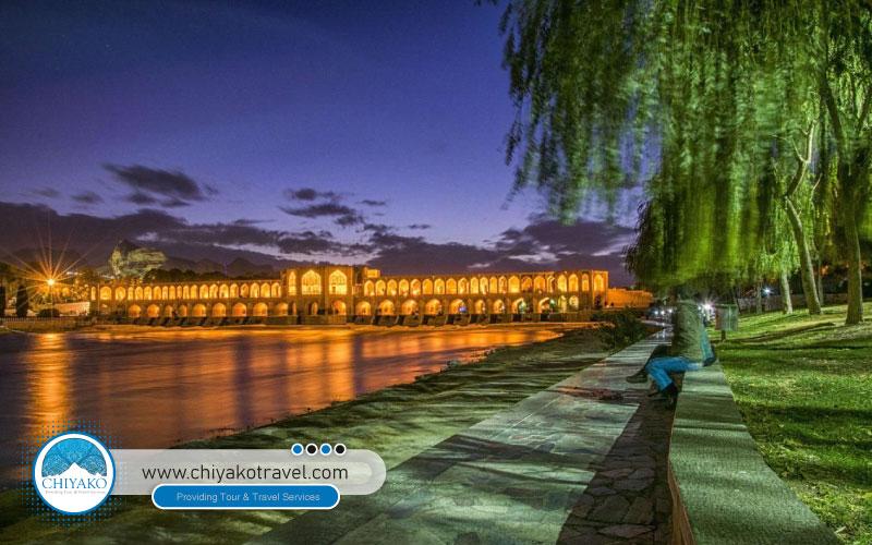 Khaju bridge in Isfahan
