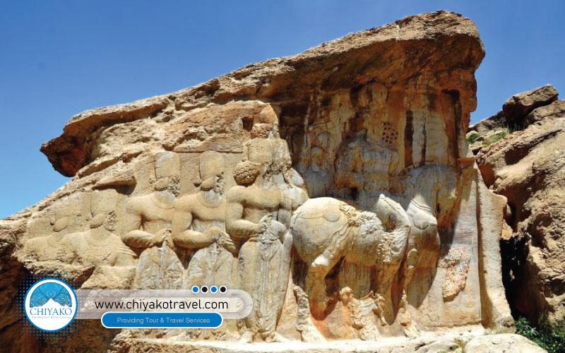 First relief Marvdasht Naghsh-e Rajab