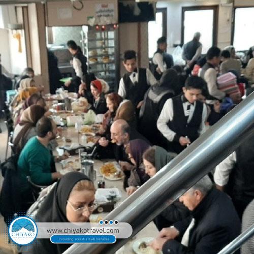 Moslem restaurant