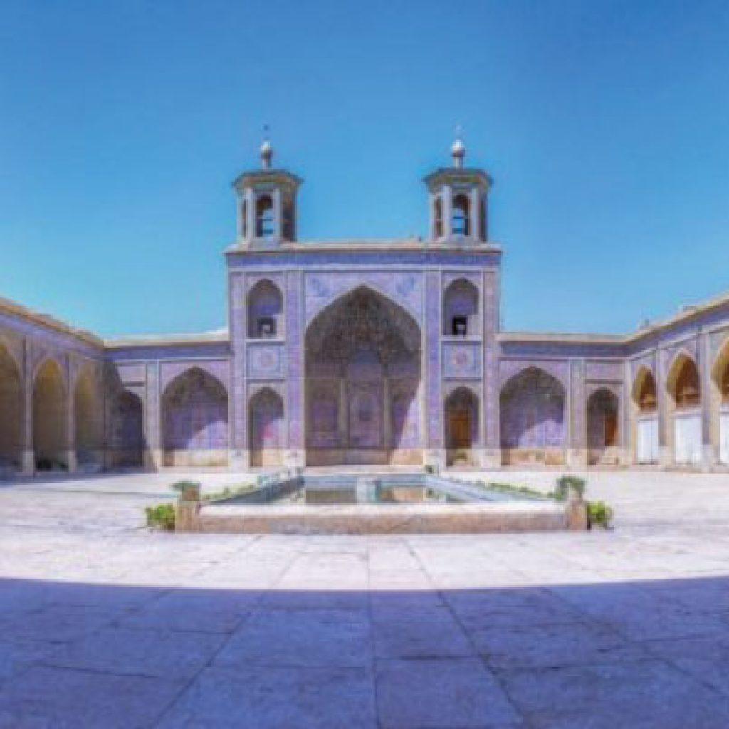 Nasir ol-Molk mosque in Shiraz