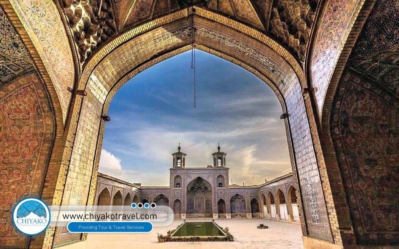 Nasir ol-Molk mosque of Shiraz