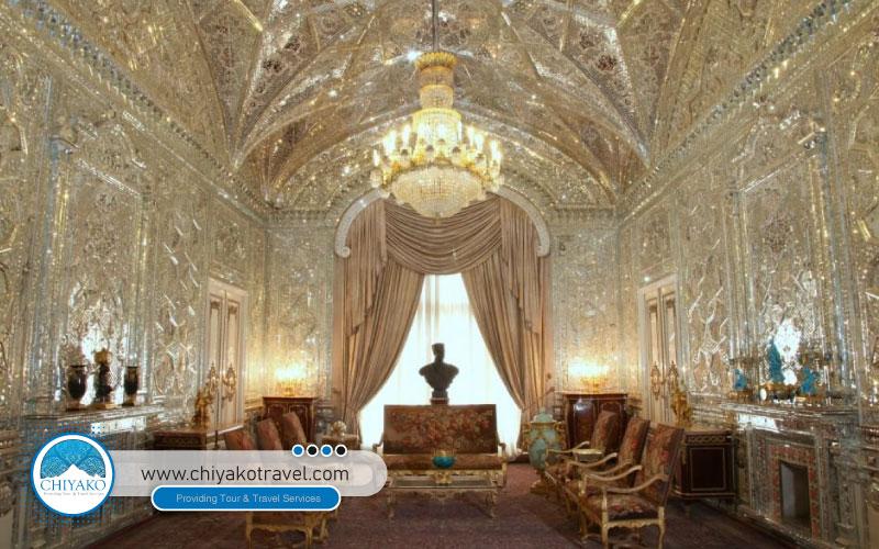 Sa'dabad palace inside
