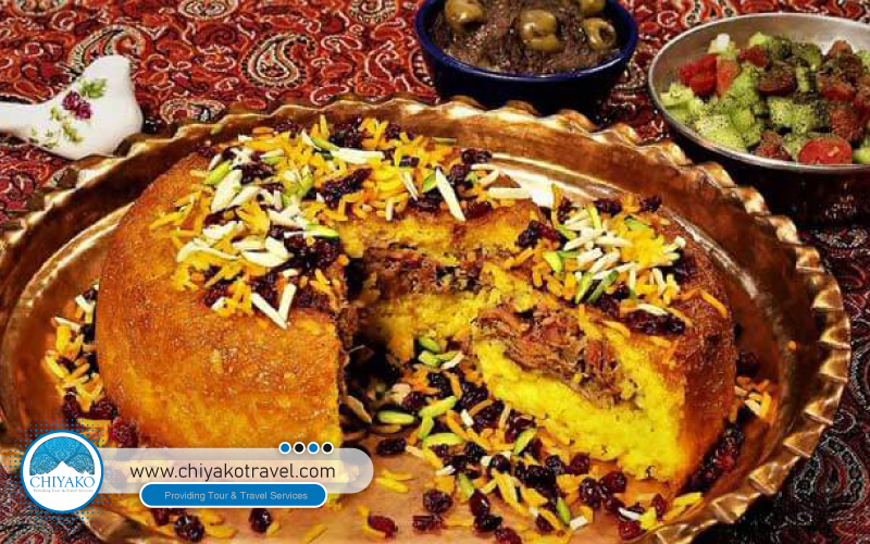 Shirazi Polo (Shiraz food)