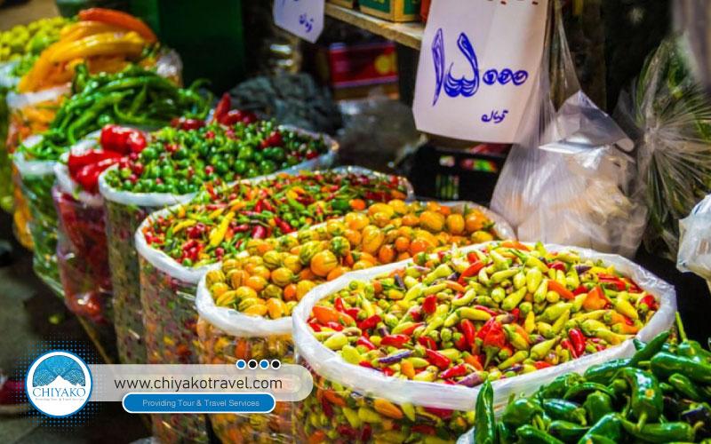 Tajrish bazaar goods