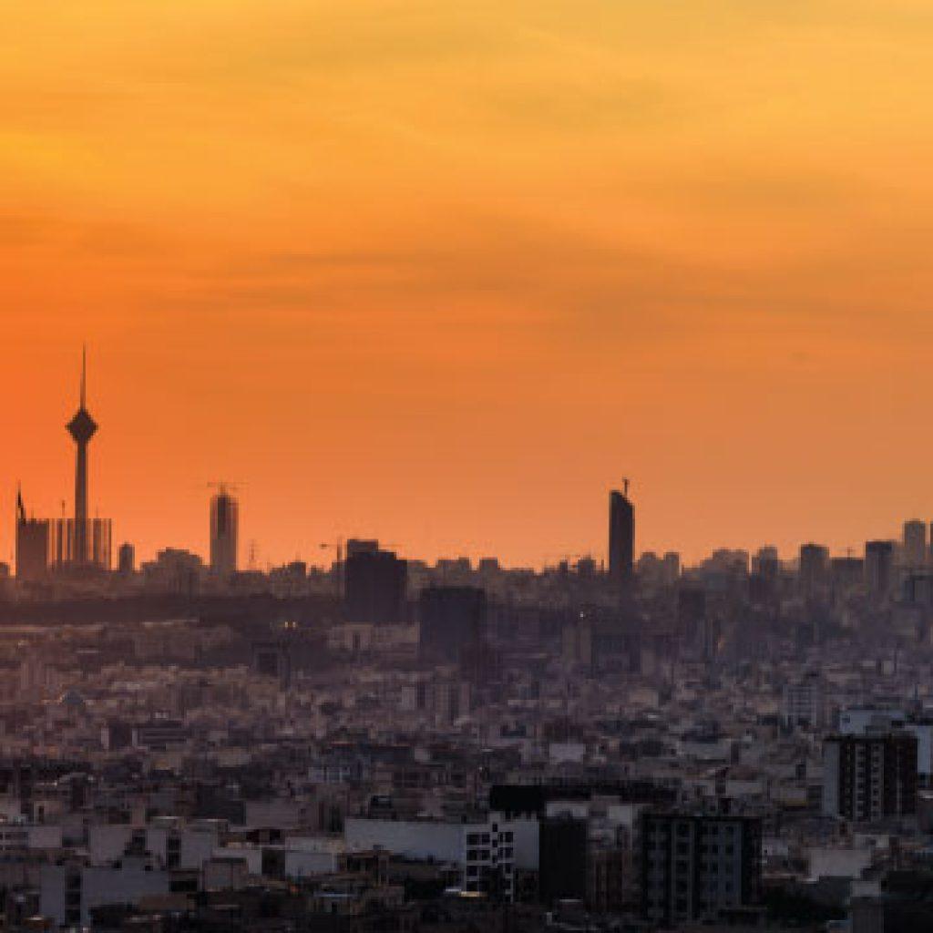 nightlife in Tehran city
