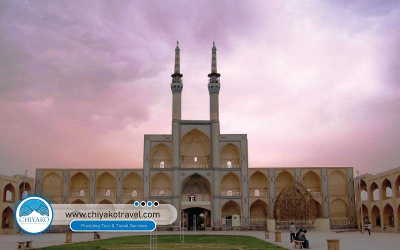 Yazd Amir Chakhmaq square
