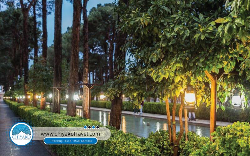 Yazd DowlatAbad Garden