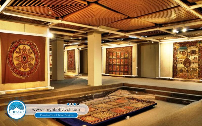 carpet museum in Tehran