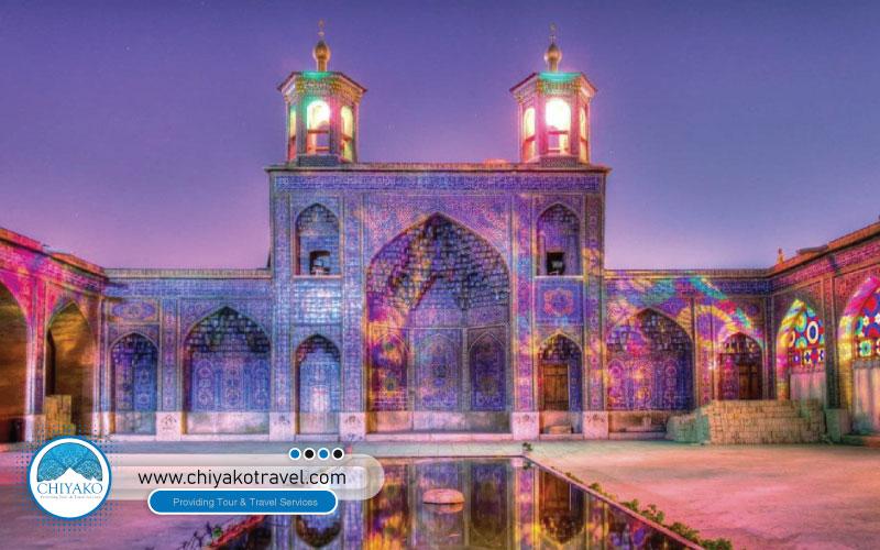 exterior view of Nasir ol-Molk mosque