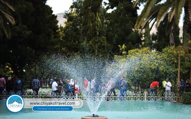water supply in Eram garden