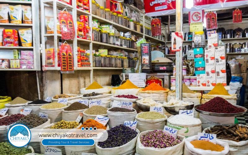 herbs in Vakil bazaar
