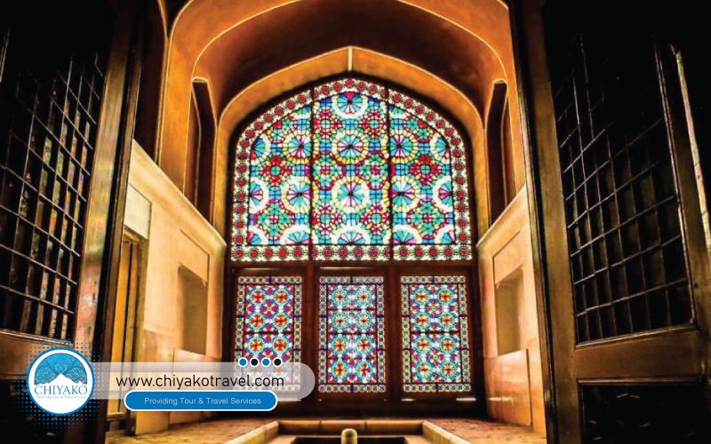 interior design of DowlatAbad Garden