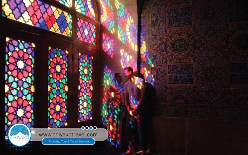 interior view of Nasir ol-Molk mosque