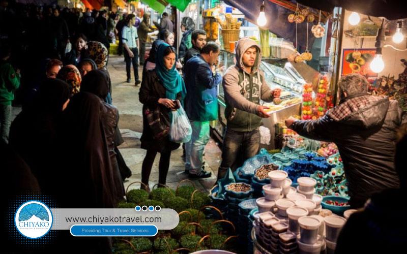 shopping in Tajrish bazaar