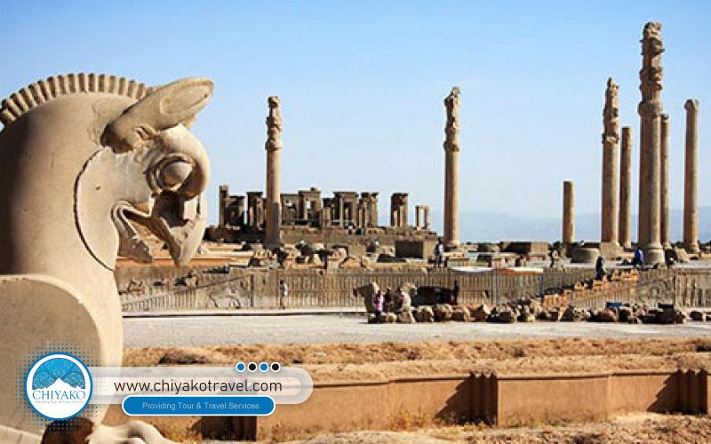 The usage of Persepolis palace