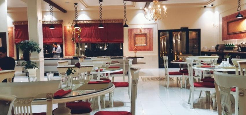 Espakho restaurant in Kerman