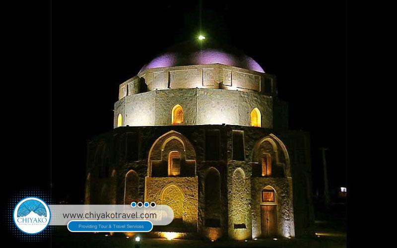 Jabaliyeh dome in Kerman view