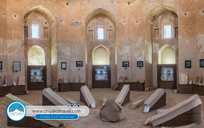 Jabaliyeh dome inside