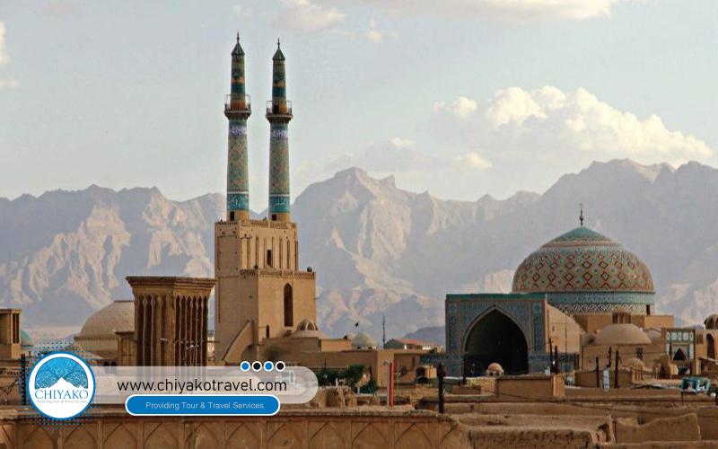Jame mosque Yazd