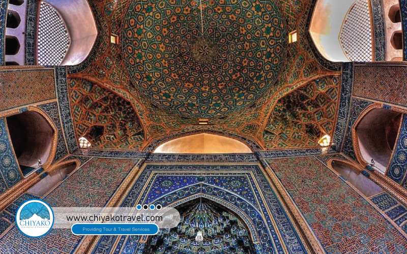 Jame mosque of Yazd beauty