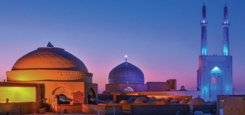 Jame mosque of Yazd city