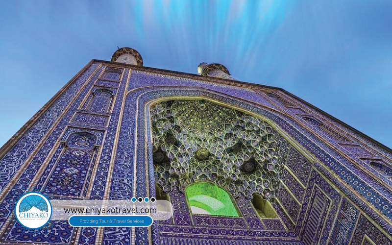 Jame mosque of Yazd glory