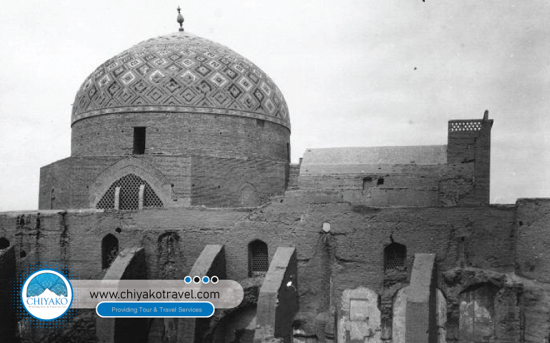 Jame mosque of Yazd history