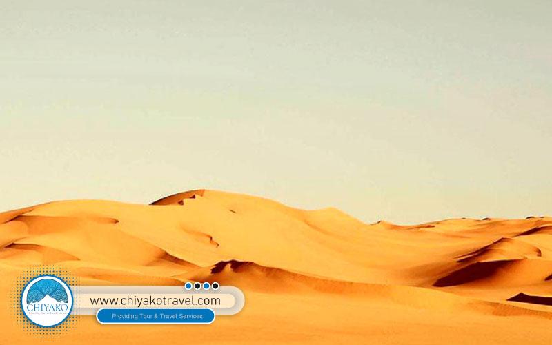Karakal desert in Yazd