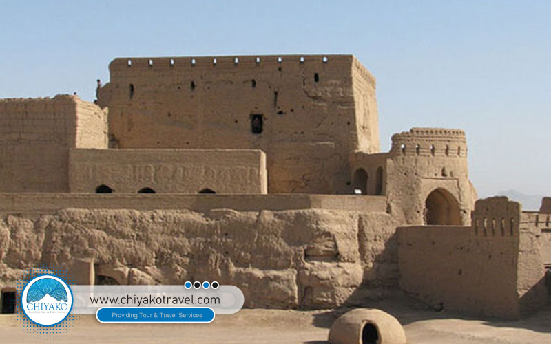 Naryn castle arround Yazd