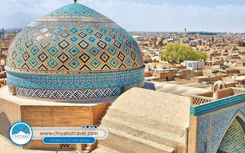 Yazd urban fabric